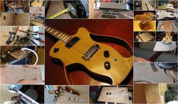 Initiation lutherie guitare électrique