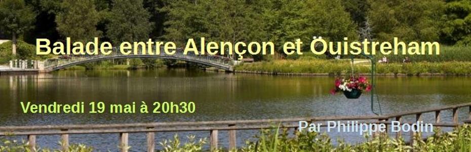 Balade entre Alençon et Ouistréham