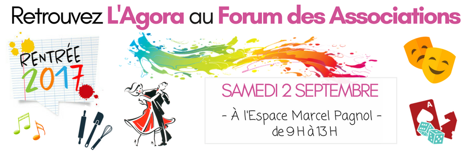 L'AGORA au Forum des Associations 2017/2018