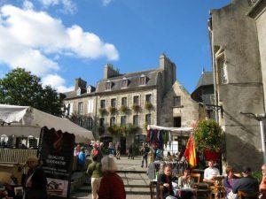 Sortie au marché de Saint-Renan