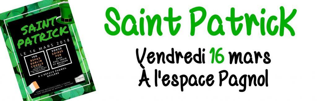 Saint Patrick : soirée irlandaise