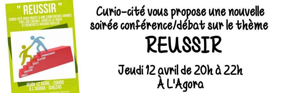 Curio-cité : conférence/débat «Réussir»