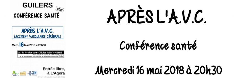 Conférence santé : Après l'A.V.C.