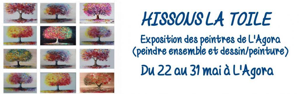 Exposition «Hissons la toile»