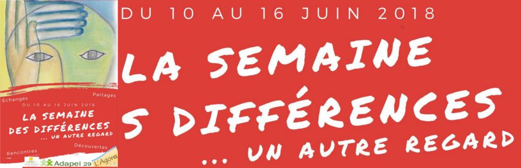 Semaine des différences – 10 au 16 juin 2018