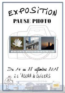 """Exposition de l'activité """"Pause photo"""""""