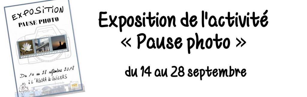Exposition de l'activité «Pause photo»