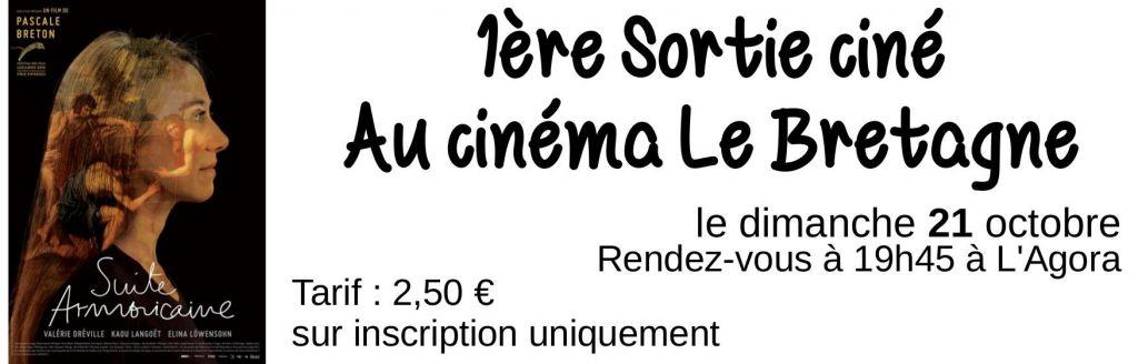 Sortie au cinéma Le Bretagne