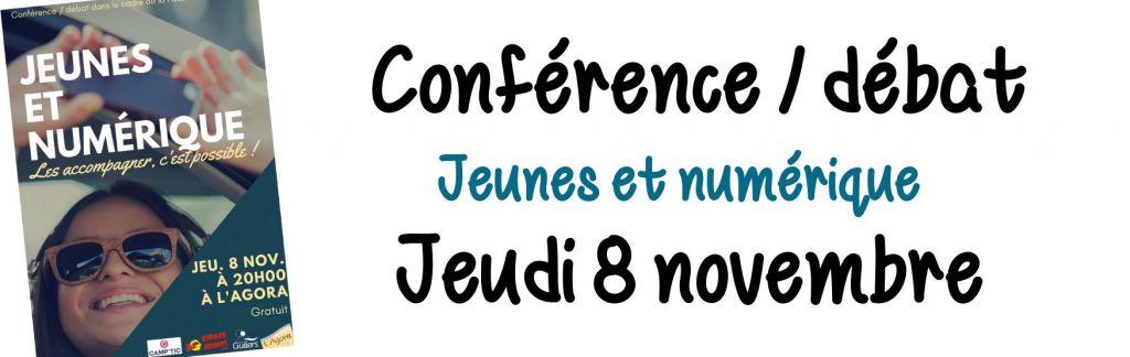 Conférence / débat : Jeunes et numérique