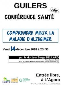 Conférence santé « Comprendre mieux la maladie d'Alzheimer »