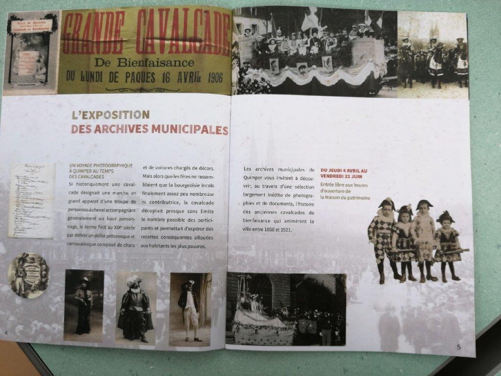 Expo à la section des Archives municipales de Quimper Maison du Patrimoine de Quimper