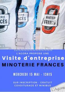 Visite d'entreprise : Minoterie Frances