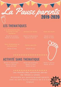 "Pause parents : thématique ""Artistes en herbe"""