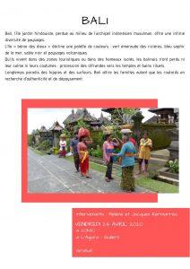 Le Monde en Images : Bali