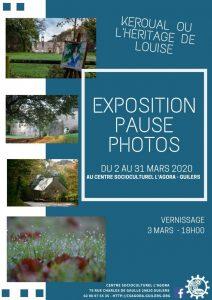 Exposition de l'activité Pause Photos