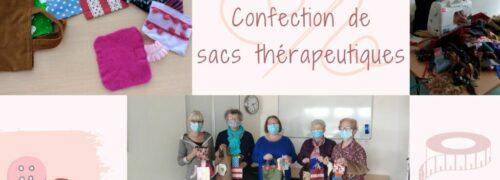 Confection de sacs thérapeutiques