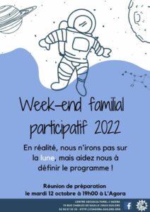 Réunion week-end familial participatif