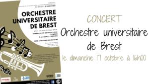 Concert Orchestre Universitaire de Brest